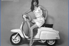Jane Shrimpton Lambretta